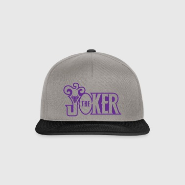 Batman The Joker Snapback Cap Typo - Snapback-caps