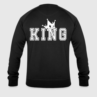 Valentine's Matching Couples King Crown Jersey - Økologisk sweatshirt for menn fra Stanley & Stella