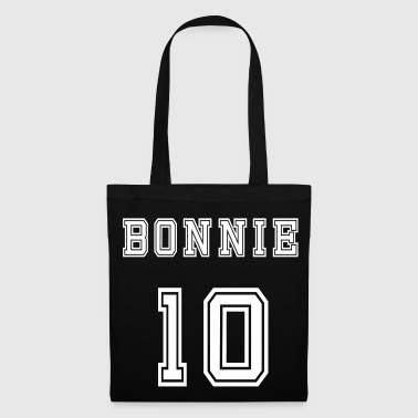Valentine's Day Matching Couples Bonnie Number - Tote Bag