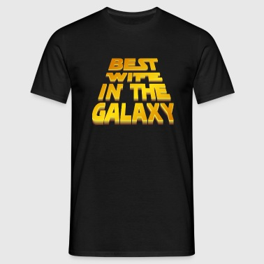 Best Wife in the Galaxy - T-shirt herr