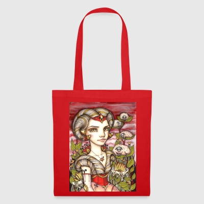 Aries Girl Widder Mädchen Bags & Backpacks - Tote Bag