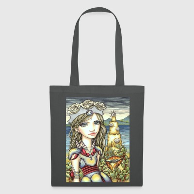 Cancer Girl Krebs Mädchen Bags & Backpacks - Tote Bag