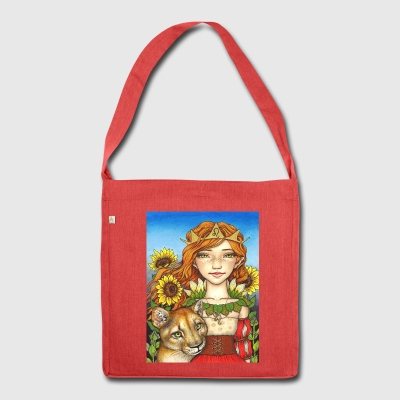 Leo Girl Bags & Backpacks - Shoulder Bag made from recycled material