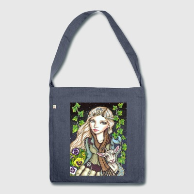 Capricorn Girl Bags & Backpacks - Shoulder Bag made from recycled material