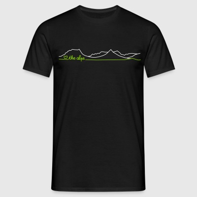 love the alps T-Shirts - Männer T-Shirt