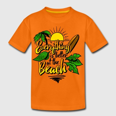 Beach-colour - Teenager Premium T-Shirt