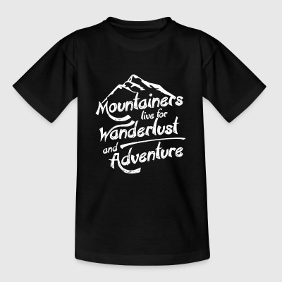 Berge Mountains T-Shirts - Teenager T-Shirt