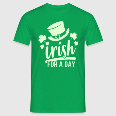 Irish for a day - Männer T-Shirt
