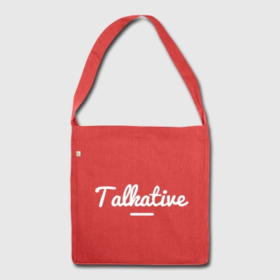 TALKATIVE Bags & Backpacks - Shoulder Bag made from recycled material