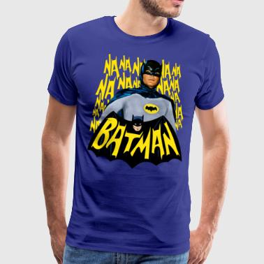 DC Comics Batman Vintage Actor Theme Song - Miesten premium t-paita