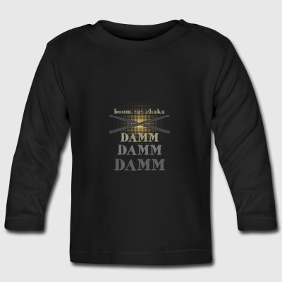 Boom boom Drummer Baby Long Sleeve Shirts - Baby Long Sleeve T-Shirt