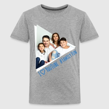 Family Fun Foto Miley Cihan Robert Aynur - Teenager Premium T-Shirt