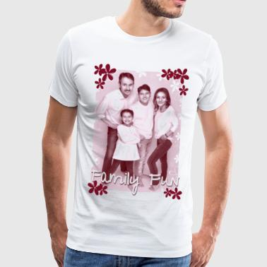 Family Fun Foto Miley Cihan Robert Aynur - Männer Premium T-Shirt