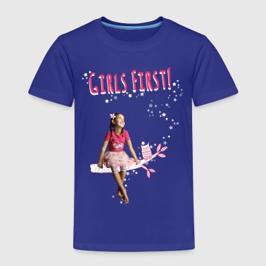Mileys World Girls First Miley Auf Ast - Kinder Premium T-Shirt