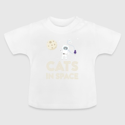 Cats in outer space Stfb7 Baby Shirts  - Baby T-Shirt