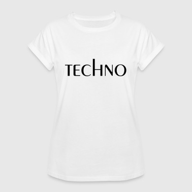 techno T-Shirts - Frauen Oversize T-Shirt