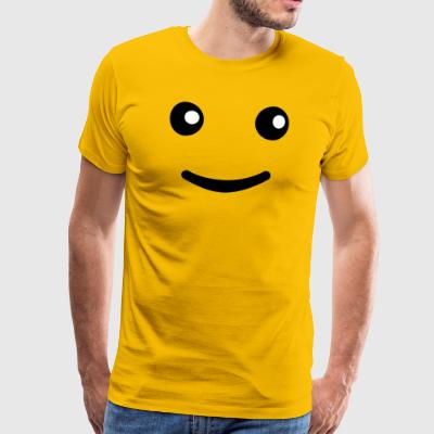 Yeux smiley Tee shirts - T-shirt Premium Homme