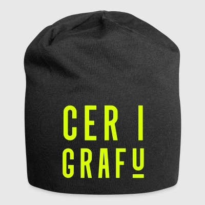 Cer I Grafu, Welsh Phrase Caps & Hats - Jersey Beanie
