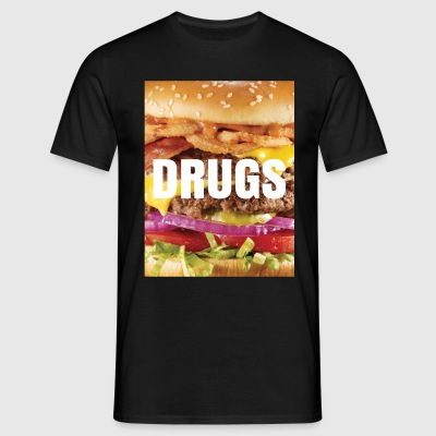 Burger - Drugs T-Shirts - Men's T-Shirt