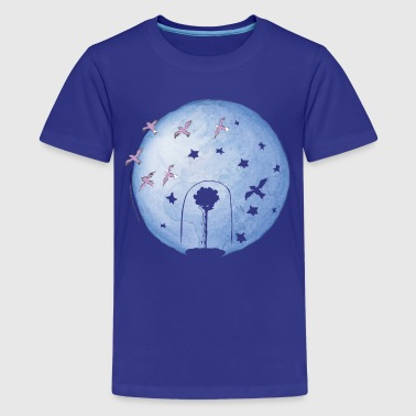 The Little Prince Rose Under Cover And Earth - Teenage Premium T-Shirt