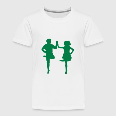 Irish Dance T-shirts - Børne premium T-shirt