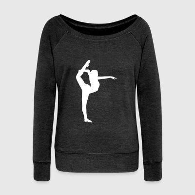 Yoga, Dancer, Gymnast Sweat-shirts - Pull Femme col bateau de Bella