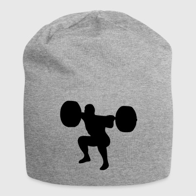 weightlifting, weightlifter, weight lifter Cappelli & Berretti - Beanie in jersey