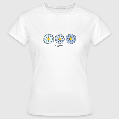 Blue daisy - Frauen T-Shirt
