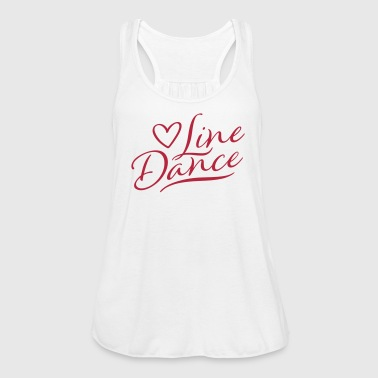 LOVE LINE DANCE Tops - Women's Tank Top by Bella