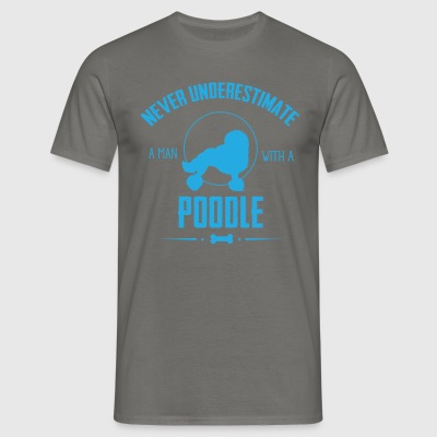 Dog Poodle NUM T-Shirts - Men's T-Shirt
