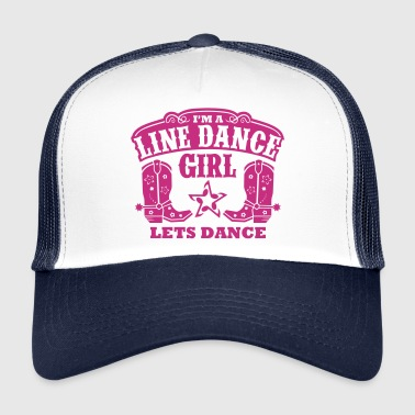 I'M A LINE DANCE GIRL Caps & Hats - Trucker Cap