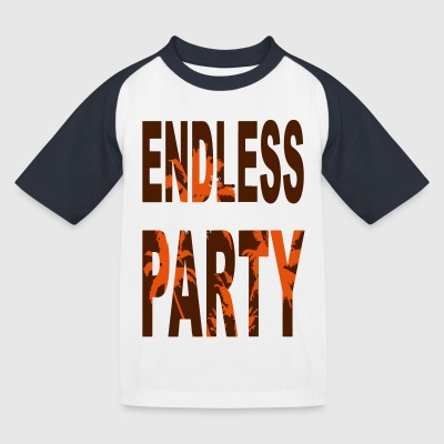 Endless Party Beach - Kinder Baseball T-Shirt
