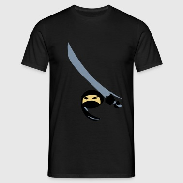 Ninja Tee Black - Men's T-Shirt