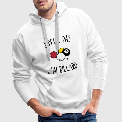 billard Sweat-shirts - Sweat-shirt à capuche Premium pour hommes