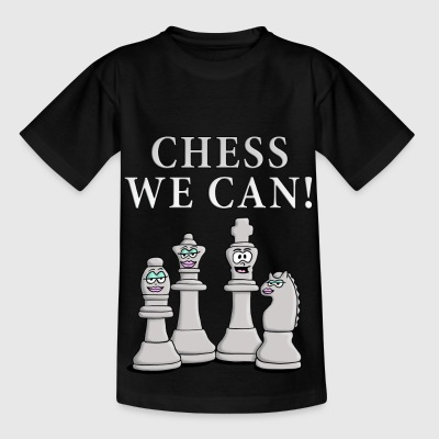 chess_we_can_04_2017_c T-Shirts - Kinder T-Shirt