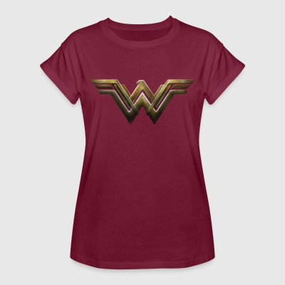 Bros Wonder Woman Logo - Oversize-T-shirt dam