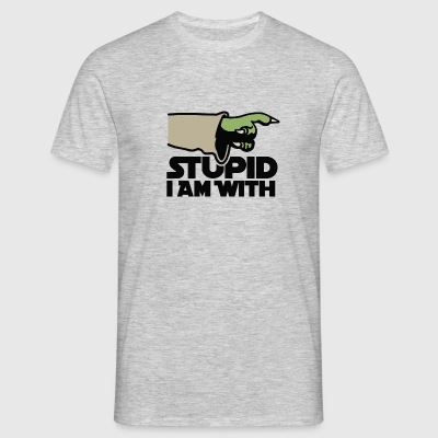 Stupid I am with FC T-Shirts - Men's T-Shirt