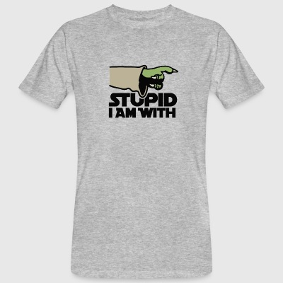 Stupid I am with FC Camisetas - Camiseta ecológica hombre