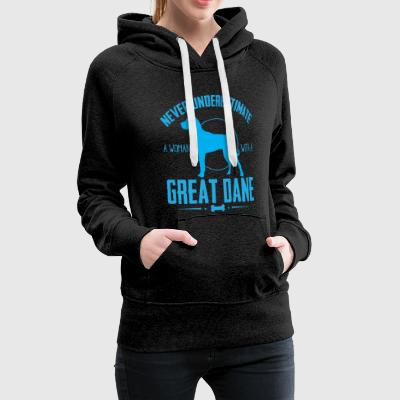 Dog Great Dane NUW Hoodies & Sweatshirts - Women's Premium Hoodie