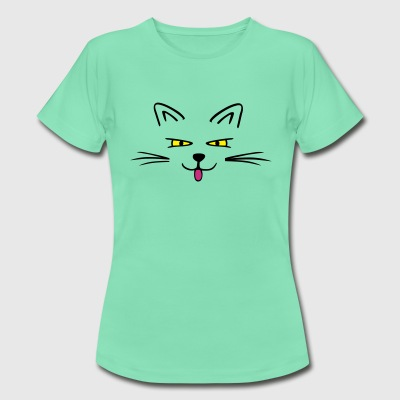 Funny cat Tee shirts - T-shirt Femme