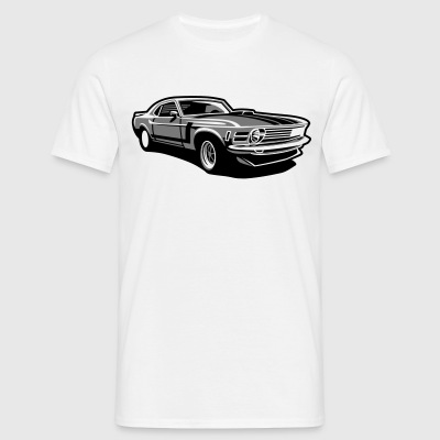 Boss stang - Men's T-Shirt