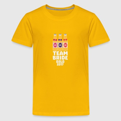 Team-Braut-Oslo 2017-Sk20f T-Shirts - Teenager Premium T-Shirt