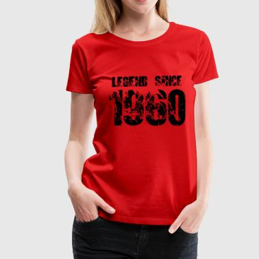 Legend since 1960 T-Shirts - Frauen Premium T-Shirt