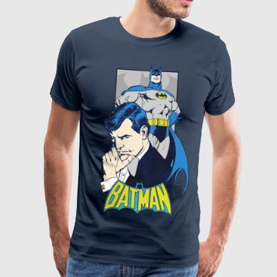 DC Comics Originals Batman Bruce Wayne - Premium T-skjorte for menn