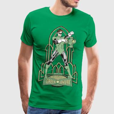 DC Comics Originals Green Lantern Look Usé - T-shirt Premium Homme