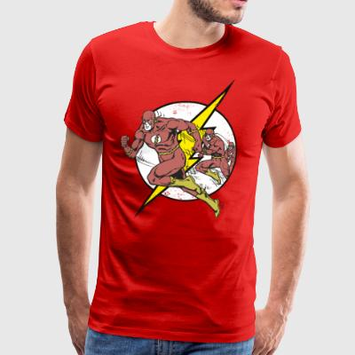 DC Comics Originals The Flash Rennt - Männer Premium T-Shirt