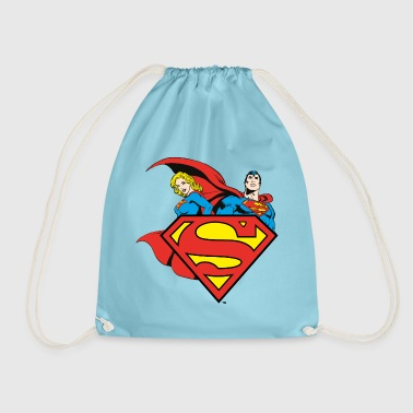 DC Comics Originals Superman Supergirl Logo - Sac de sport léger