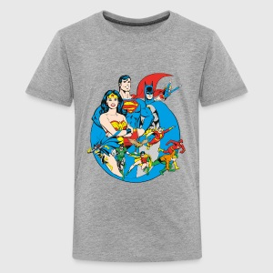 DC Comics Originals  Members - Premium-T-shirt tonåring