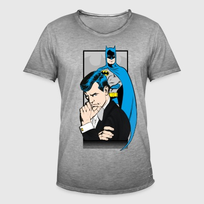 DC Comics Originals Batman Bruce Wayne - Vintage-T-shirt herr