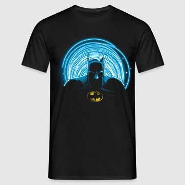 DC Comics Originals Batman Neon Outline - Mannen T-shirt